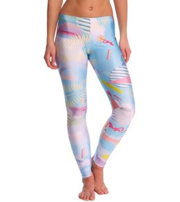 Poprageous Miami Netscape Yoga Leggings