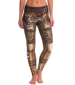 Poprageous Steam Punk Yoga Leggings