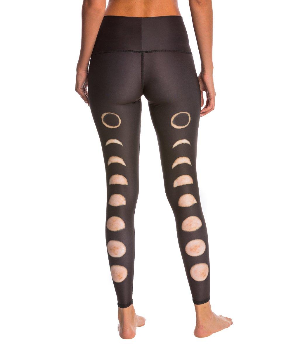 80370b2cb8 Teeki New Moon Black Hot Pants at YogaOutlet.com - Free Shipping