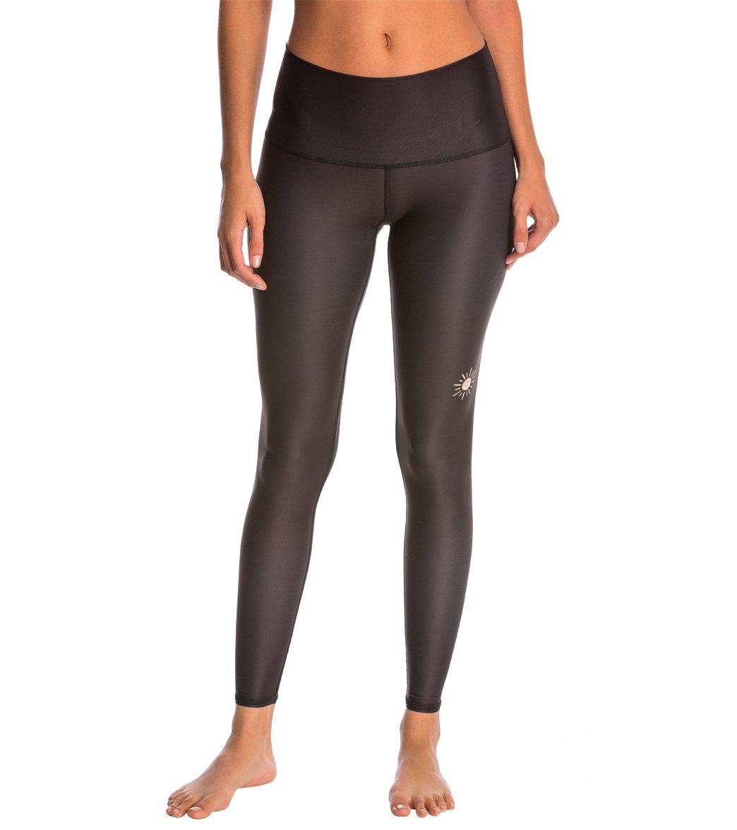 139d4357e8b1b Teeki New Moon Black Hot Pants at YogaOutlet.com - Free Shipping
