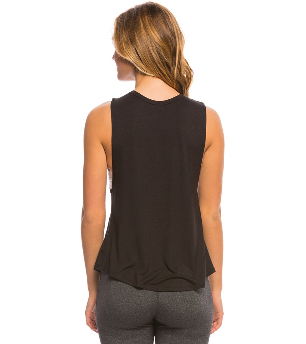 0c07109df0f9 Puppies Make Me Happy Puppies & Yoga Workout Tank Top at SwimOutlet.com
