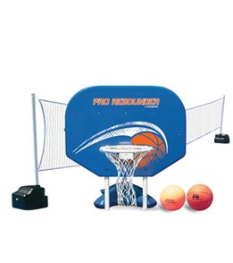 Poolmaster Combo Poolside Basketball/Volleyball Game