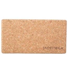 Jade Yoga Cork Yoga Block 3 Inch