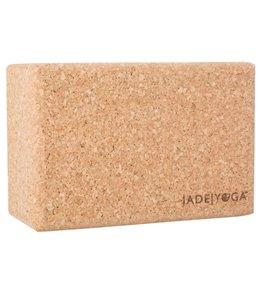 Jade Yoga Cork Yoga Block Standard 4 Inch