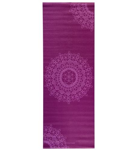 Gaiam Purple Medallion Classic Yoga Mat 68 Quot 3mm At