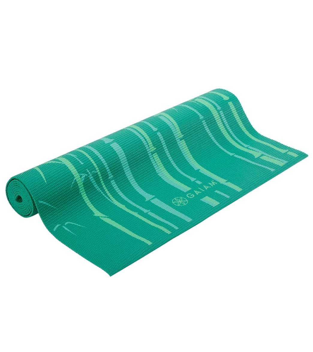 Gaiam Green Bamboo Classic Yoga Mat 68 Quot 3mm At Swimoutlet Com