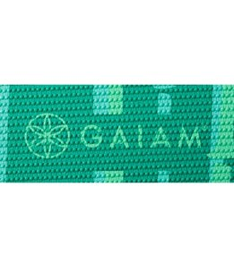 Gaiam Green Bamboo Classic Yoga Mat 68