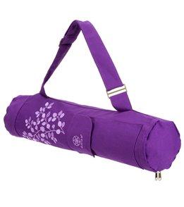 Gaiam Spring Violet Yoga Mat Bag At Yogaoutlet Com