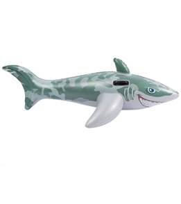 Wet Products Camo Great White Shark Ride-On Pool Float