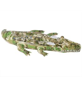 Wet Products Camo Crocodile Ride-On Pool Float