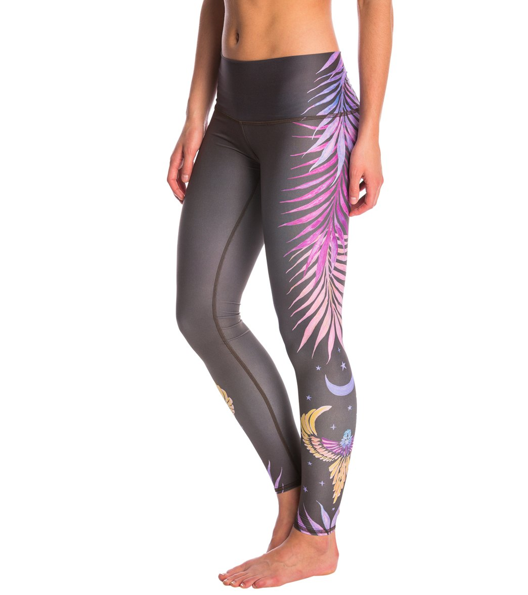 a87ea76d61fd0 Teeki Pheonix Rising Hot Pant Yoga Leggings at YogaOutlet.com - Free ...