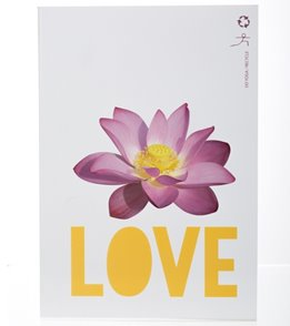 Funky Yoga Recycled Lotus Love Yoga Journal