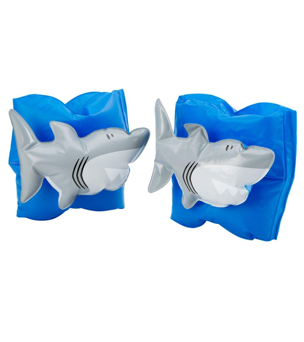 91384664142 Stephen Joseph Shark Water Wings (3yrs-6yrs) at SwimOutlet.com