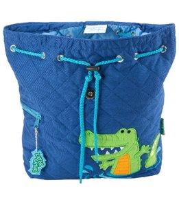 Stephen Joseph Alligator Quilted Backpack