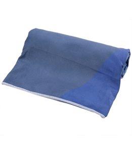 Yoga Design Lab Geo Blue Hot Yoga Mat Towel