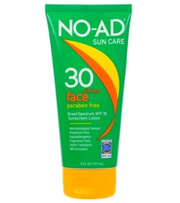 NO-AD Face SPF 30 Sunscreen 6oz