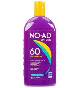 NO-AD SPF 60 Sunscreen Lotion 16oz
