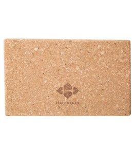 Halfmoon Cork Yoga Block 3.5 Inch