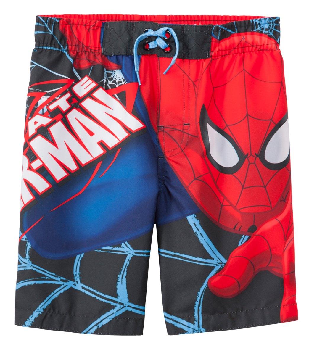 Marvel Boys Spiderman Swim Trunk