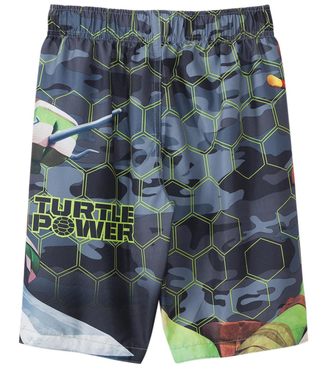 1104464269 Nickelodeon Boys' Teenage Mutant Ninja Turtles Swim Trunks (4-7) at ...