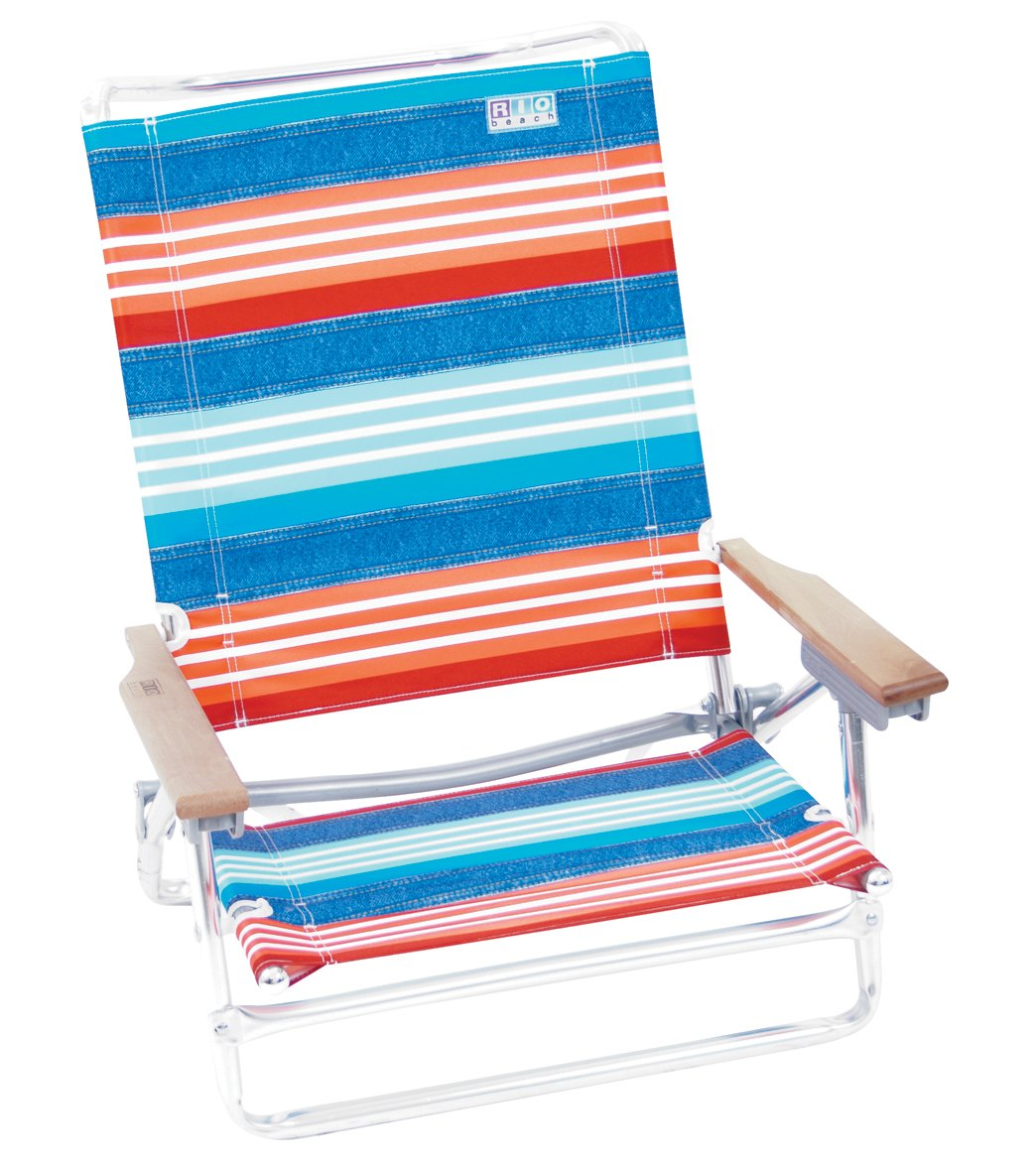 Rio Brands Denim Nation Red White And Blue Stripe