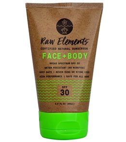 Raw Elements Eco Formula SPF 30+ Sunscreen Lotion