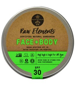 Raw Elements Eco Formula Sunscreen Tin SPF 30+