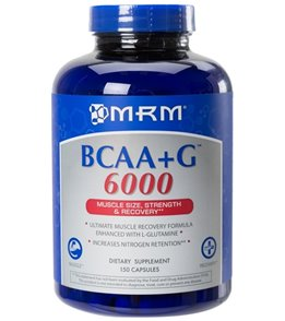 MRM BCAA + G  6000 Ultimate Recovery Formula