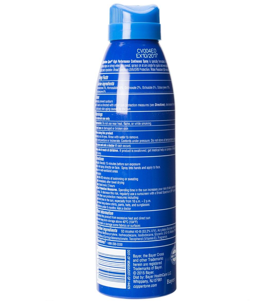 4135a762ffb3 Coppertone Sport Continuous Spray SPF 100, 6 oz