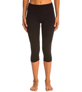 360b08277f8 Marika Carrie Butt Booster Cotton Yoga Capris at YogaOutlet.com - Free  Shipping