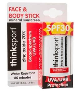 Thinksport Sunscreen Stick SPF 30, 10ml