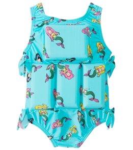 My Pool Pal Girls' Mermaid Floatation Swimsuit