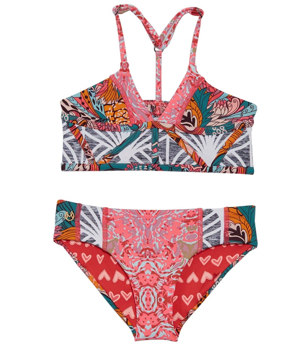 Maaji Girls  Pintastic Party Sugar Bloom Bikini Set (2-16) at  SwimOutlet.com - Free Shipping 5f8966f833bf