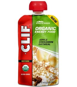 Clif Bar Organic Energy Food - Oatmeal Pouches (6 Pack)