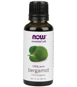 NOW 100% Pure Bergamot Oil 1 oz
