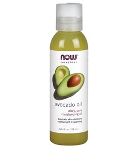 NOW 100% Pure Avocado Oil 4 oz