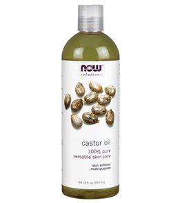 NOW 100% Pure Castor Oil 16 oz