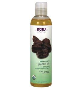 NOW 100% Pure Organic Jojoba Oil 8 oz