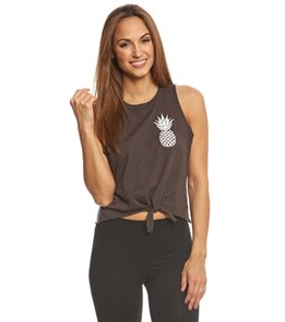 Chaser Pineapple Yoga Crop Tank