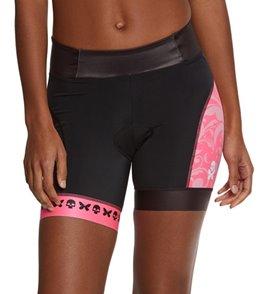 Betty Designs Women's Pink Betty Triathlon Short