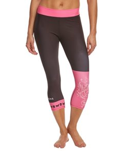 Betty Designs Women's Pink Betty Capri