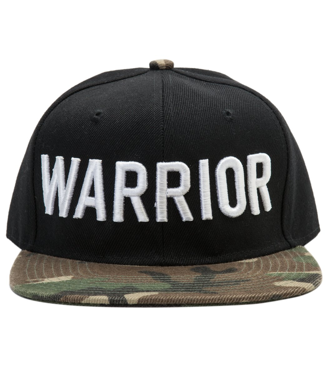 Spiritual Gangster Men s Warrior Camo Snapback Hat at YogaOutlet.com 04258c4c453