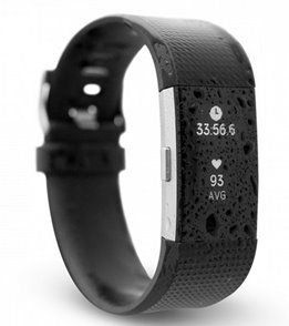 Waterfi Waterproofed Fitbit Charge 2 Activity Tracker
