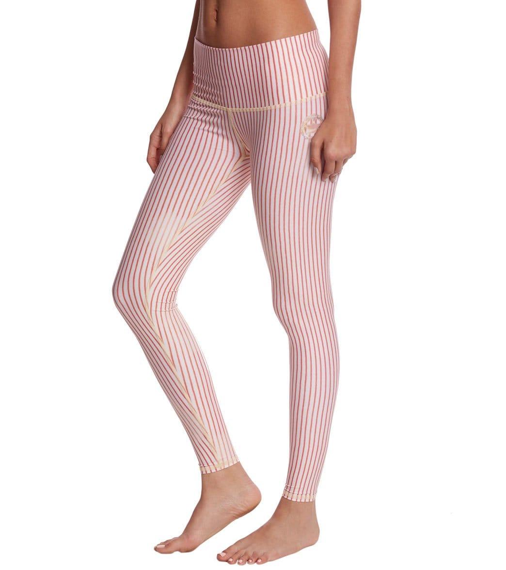 c35158f9ff1746 Teeki Candy Cane Hot Yoga Pants at YogaOutlet.com - Free Shipping