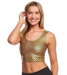 Purusha People Diamond Mermaid Yoga Crop Bra Top