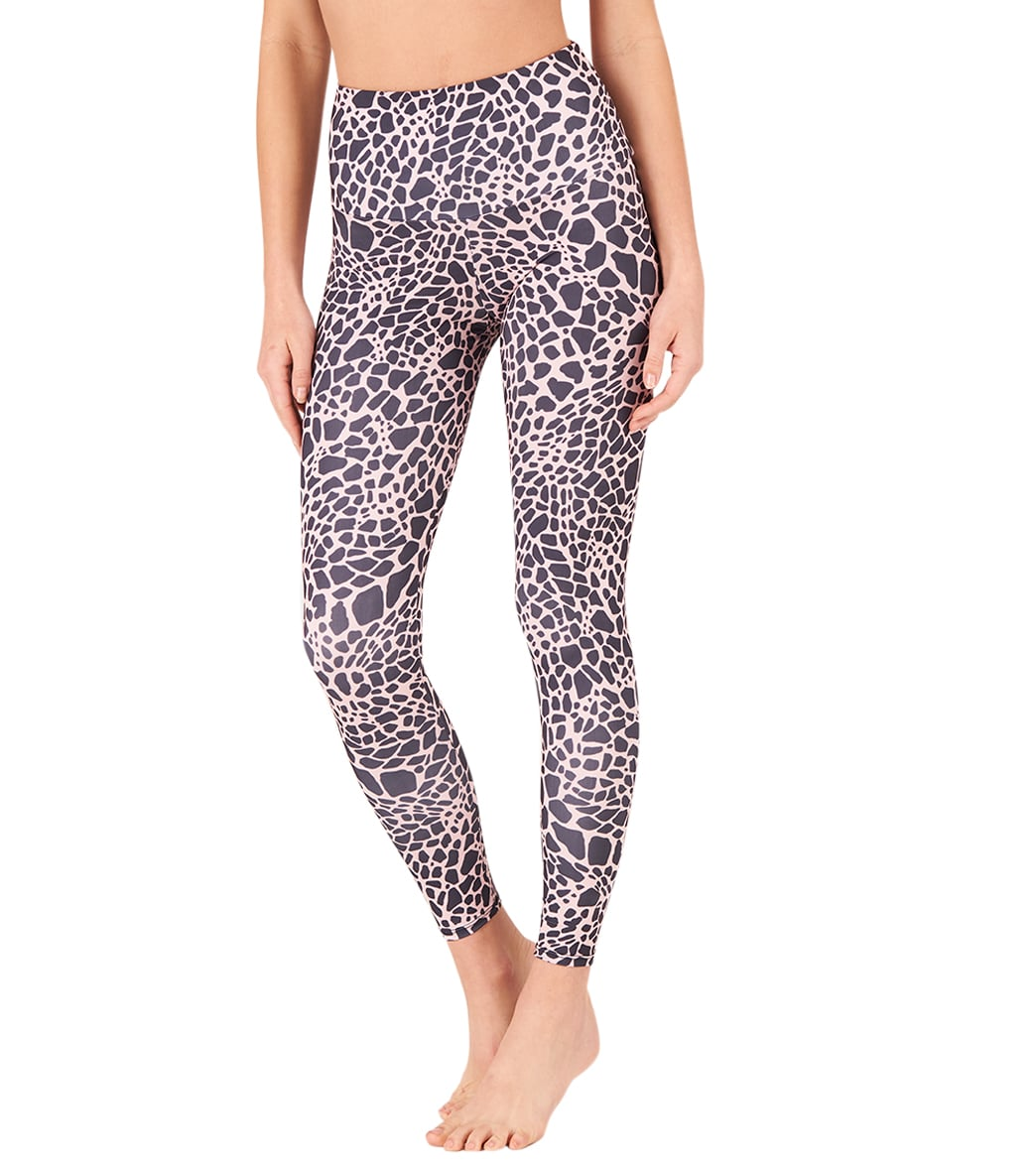 c8fe0980a35 Onzie High Waisted Basic 7 8 Yoga Leggings at YogaOutlet.com - Free ...