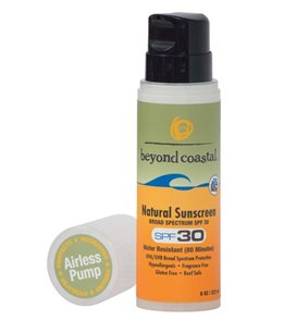 Beyond Coastal Natural Sunscreen SPF 30, 8oz