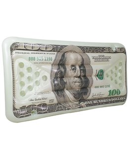 Jet Creations $100 Bill 72'' Beer Pong Game