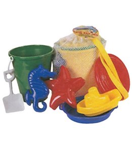 Sola Mesh Backpack Full of Toys