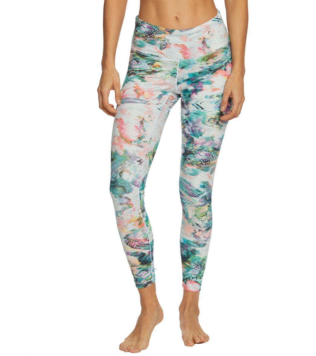 e373b2009b8e7 Prana Pillar Printed Yoga Leggings at YogaOutlet.com - Free Shipping